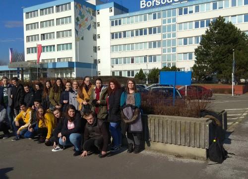 Studenti navštívili BorsodChem MCHZ, s.r.o. Ostrava